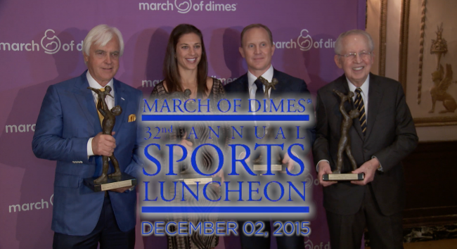 Taylor Supports March of Dimes Sports Luncheon for 27th Consecutive Year